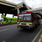 ドンムアン空港からバンコク市内へのバス+BTSでの行き方