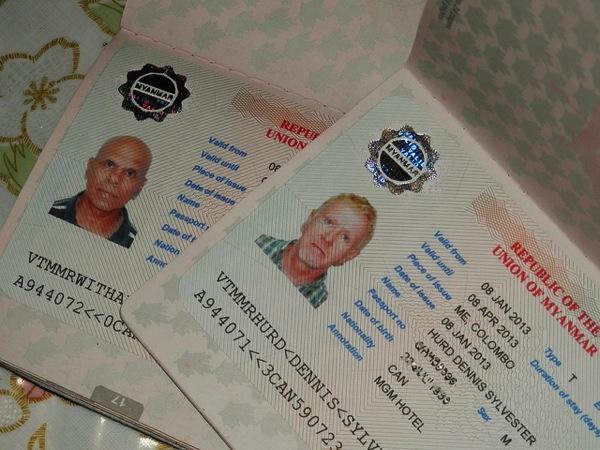 ミャンマー・ビザの有効期限内でも再入国する場合は再取得が必要