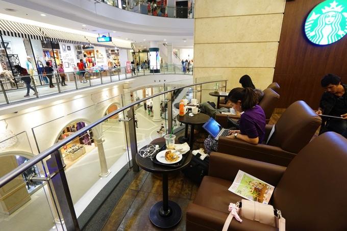 ターミナル21 無料 Wi-FI アソーク バンコク スターバックス