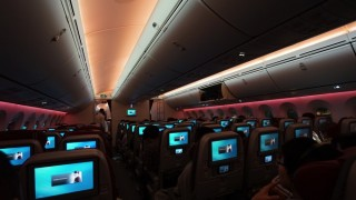 JL7999便(QR811便)の搭乗記 ※羽田(東京)ーハマド(カタール)
