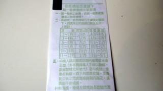 台湾のレシートくじで1,000万元が当たる!!外国人旅行者も対象です!