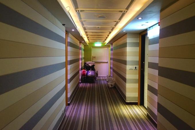 優美飯店 廊下