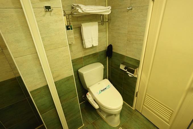 優美飯店 トイレ