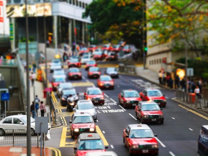 香港 タクシー
