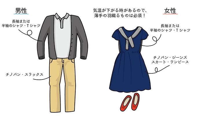 春(3月、4月)の香港旅行にふさわしい服装