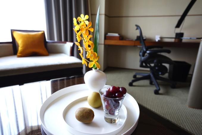 ザ・リージェントホテル台北(台北晶華酒店)のウェルカムフルーツ