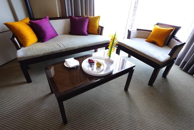 ザ・リージェントホテル台北(台北晶華酒店)のテーブル