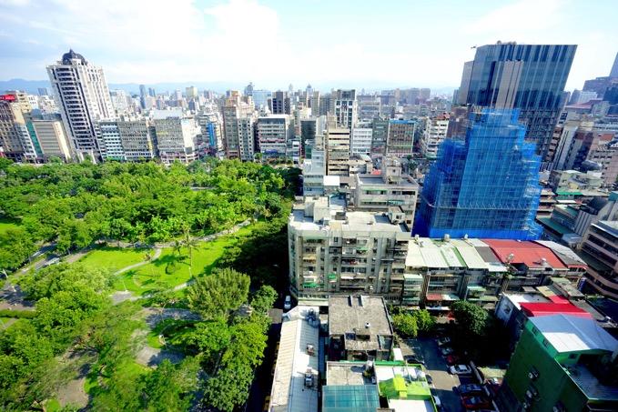 ザ・リージェントホテル台北(台北晶華酒店)の部屋からの眺め