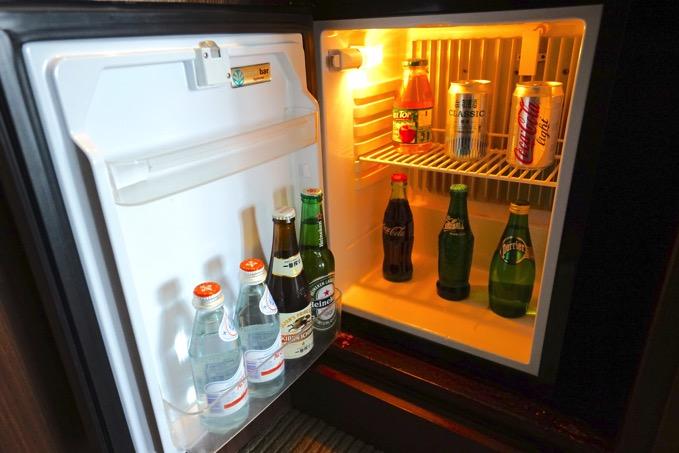 ザ・リージェントホテル台北(台北晶華酒店)の冷蔵庫