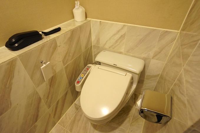 ザ・リージェントホテル台北(台北晶華酒店)のトイレ