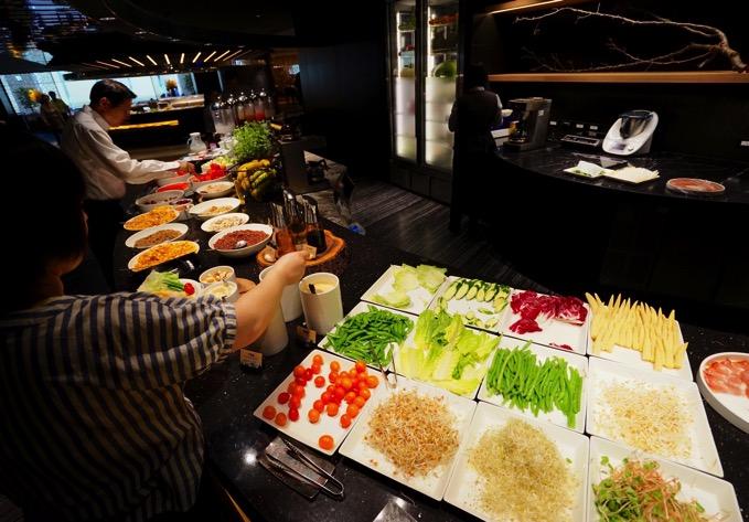 「ザ・リージェントホテル台北」の朝食