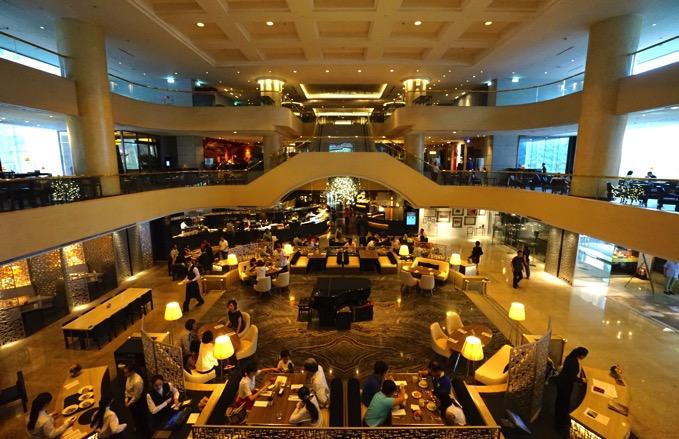ザ・リージェントホテル台北(台北晶華酒店)のロビー