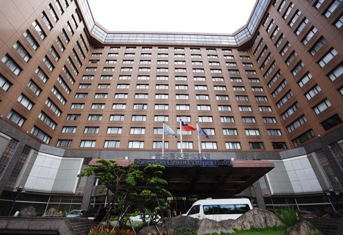 シェラトングランデ台北ホテルの外観