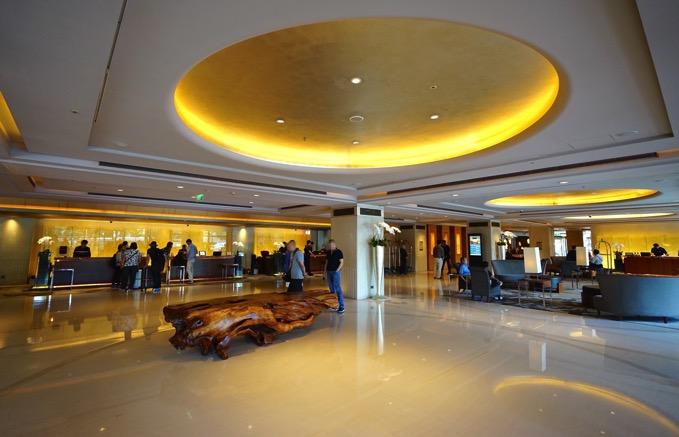 シェラトングランデ台北ホテルのロビー