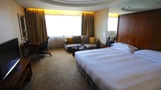 シェラトングランド台北ホテルの評判と口コミ。クラブラウンジが快適で、喫煙所もあり