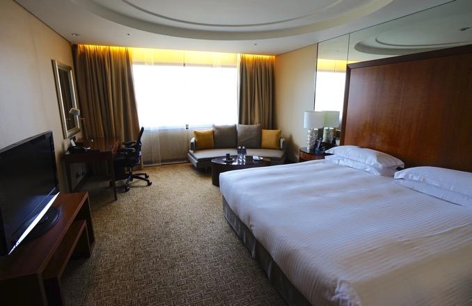 シェラトングランデ台北ホテルのプレミアムルーム