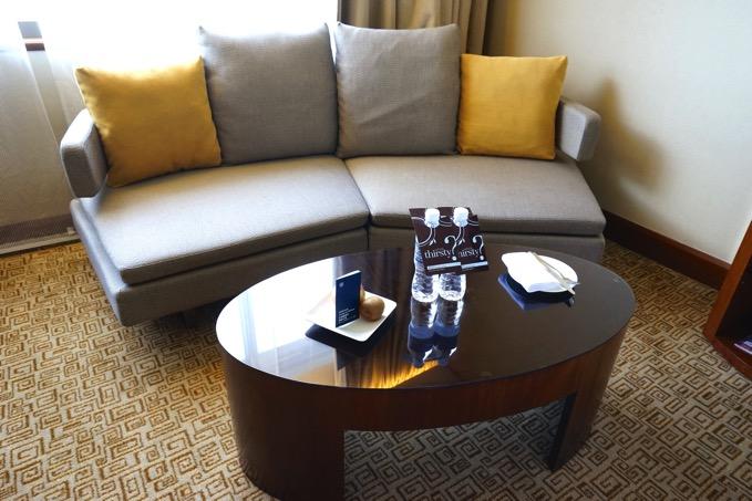 シェラトングランデ台北ホテルのソファー
