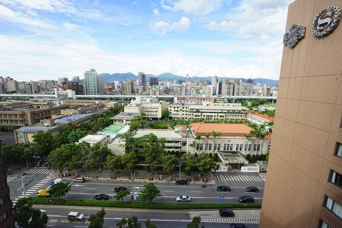 シェラトングランデ台北ホテルの眺望