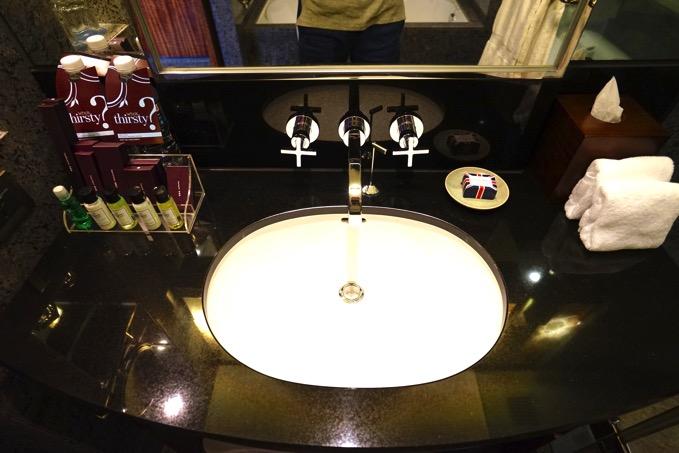 シェラトングランデ台北ホテルの洗面台